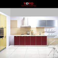 aliexpress com buy 2016 red colorful modern kitchen cabinet from