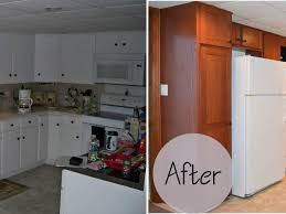 Replacing Kitchen Cabinets Replacing Kitchen Cabinet Doors Before And After Modern Cabinets