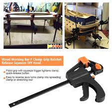 portable woodworking clamp plastic woodworking clip bar f clamp