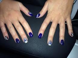 nail art dallas cowboys toe designs nails pinterest fascinating