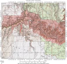 Lake Havasu Map Grand Canyon Havasu Falls