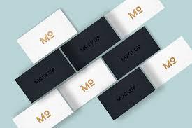 Business Cards Mockups Elegant Business Card Mockup Free Design Resources