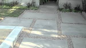 Cement Patio Table by Exterior Pea Gravel Patio For Traditional Patio Floor Design