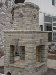 home decor shine your light outdoor fireplace kits for the diyer