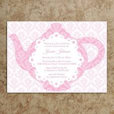 bridal tea party invitation bridal shower invitations bridal shower tea party invitations