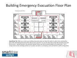 evacuation floor plan template smartdraw spotlight do you have an emergency evacuation plan