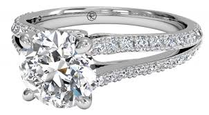 Difference Between Engagement Ring And Wedding Ring by Faq What Is A French Set Engagement Ring Ritani
