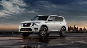 nissan armada rear compare nissan armada with toyota ford and chevrolet nissan usa