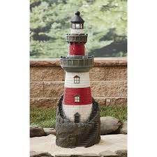 lighthouse home decor garden oasis lighthouse fountain limited availability