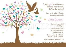 the butterfly tree baby shower invitation printable uprint