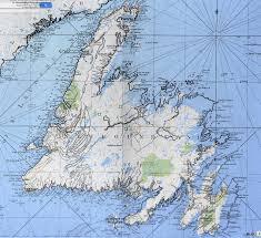Fau Map James Cook U0027s 1775 Map Of Newfoundland Canada