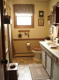 Houzz Rustic Bathrooms - country bathroom floor tile blue tiles beige c 570 closet