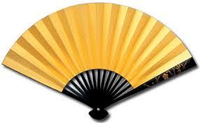 japanese fan 2175formal fan gold leaf maki e guard 京扇子の老舗 京扇堂