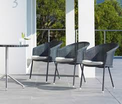 trinity chair garden chairs from cane line architonic