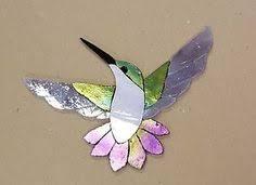 Garden Stone Craft - precut stained glass art kit garden gnome mosaic inlay garden
