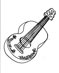 guitar coloring pages to print guitar coloring pages for free