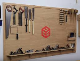 how to build a tool wall for easy access to your tools
