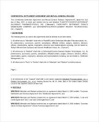 release agreement damages release of liability form template