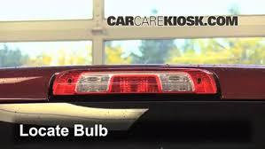 silverado third brake light cover third brake light bulb change chevrolet silverado 1500 2014 2018