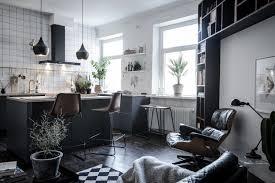 Esszimmer Dunkle M El 30 Kluge Wohnideen Für Kleine Wohnung Archzine Net Haus