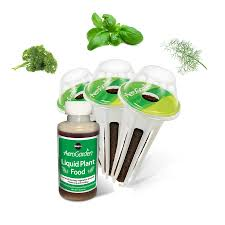 shop aerogarden gourmet herb 3 pod seed kit at lowes com