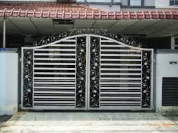 different gate design inspirations also modern homes iron main