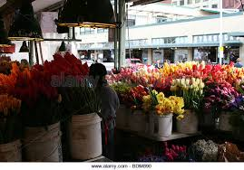 seattle flowers pike place market seattle flowers stock photos pike place market
