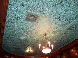 easy install tin ceiling tiles save money