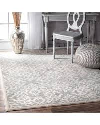 Silver Area Rug Holiday Shopping U0027s Hottest Deal On Nuloom Transitional Modern
