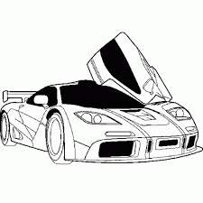 print u0026 download car coloring page