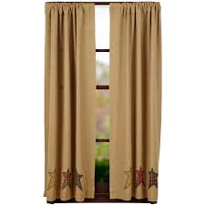 Burlap Grommet Curtains Country Style Drapes And Swags From Ihf And Park Designs