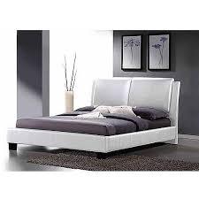 Baxton Studio Bed Baxton Studio Sabrina Modern King Platform Bed With Overstuffed