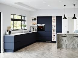 cheap kitchen cabinet doors uk blue kitchen ideas blue kitchen designs howdens