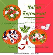 pizzeria design template vertical vector banners stock vector