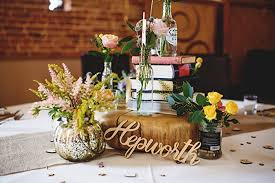 wood centerpieces place settings custom wooden word cutouts or names