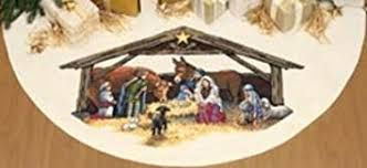dimensions r 45 inch counted cross stitch nativity
