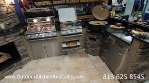 Outside Kitchen Ideas Outdoor Kitchen Design By Outdoor Kitchen And Grills Youtube