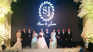 wedding cake surabaya wedding of steven 17 09 2016 by harris pop hotels