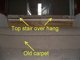 Installing Laminate Flooring On Stairs Installing Laminate On Top Stair To Carpet