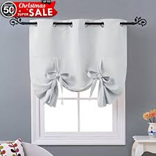 Tie Up Curtain Shade Nicetown Thermal Insulated Blackout Curtain Tie Up