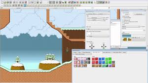 platform game with level editor platform game editor smbx level editing timelapse youtube