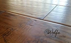 lodge gets scraped hardwood