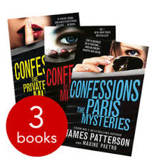 confessions collection 3 books patterson book collection