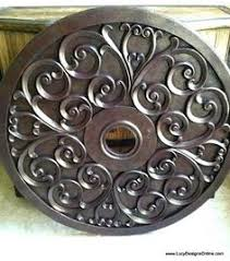 Bronze Ceiling Medallion by Westinghouse 16 In Round Parisian Scroll Antique Bronze Ceiling