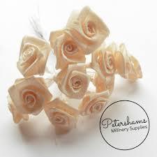 satin roses miniature satin roses flower wired picks bundle of 12 petershams
