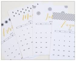 printable calendar 2016 etsy cute printable calendars for 2017