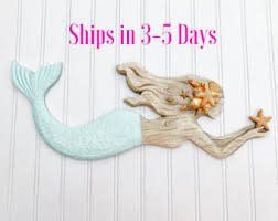 wooden mermaid wall fancy idea wooden mermaid wall hanging large hangings make wood
