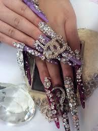 gyaru nails gyaru nails pinterest gyaru art nails and long