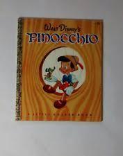 vintage pinocchio book 1939 ebay