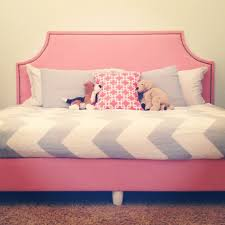 Design For Headboard Shapes Ideas Diy Upholstered Box Spring And Headboard To Make A Daybed Diy